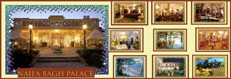 होटल नायला बाग(Naila BaghPalace)