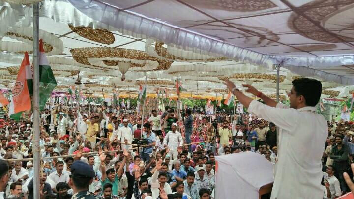 Sachin Pilot on three years of BJP Government