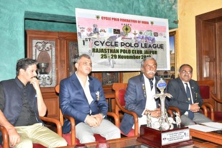 जयपुर में पहली बार आयोजित होगी 'साइकिल पोलोलीग'