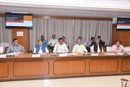 राजस्थान राज्य विद्युत विनियामक आयोग  की इक्कीसवी बैठकसम्पन्न